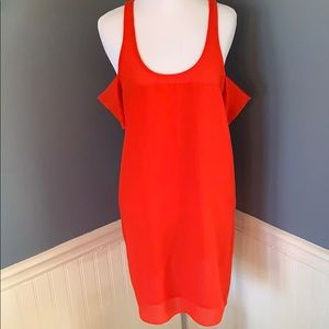 Silence + Noise UO Cold Shoulder Dress Size Small